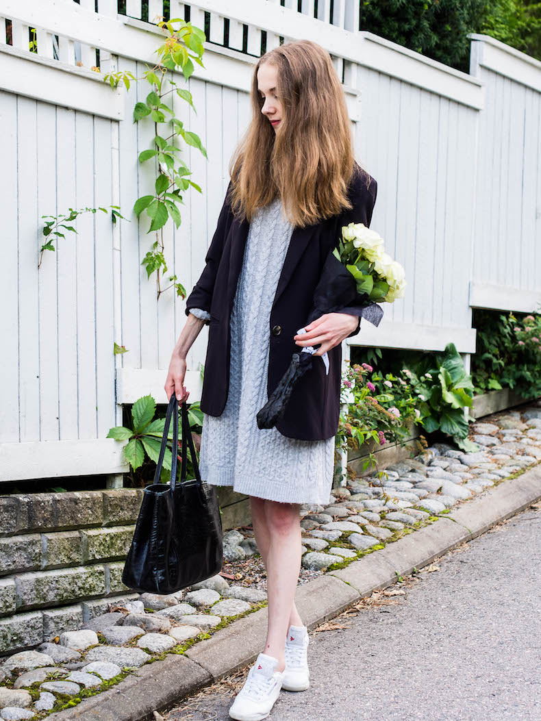knit-dress-boyfriend-blazer-outfit