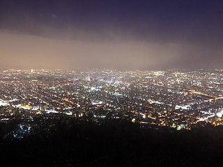 Night in Sapporo