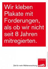 SPD: Zeit für mehr Wählerverachtung