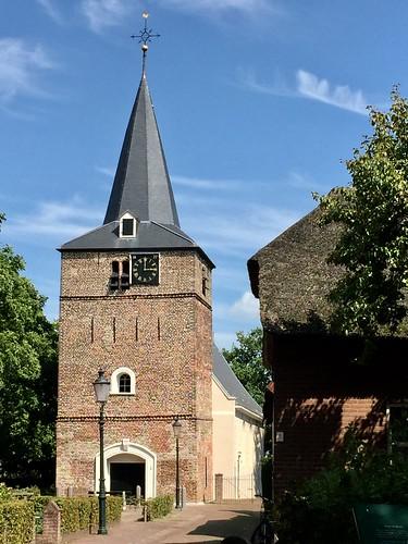 Church (tower) in Uitwijk