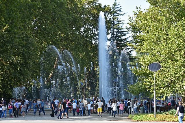 Bodor Musical Fountain, Margaret Island, Budapest, Hungary