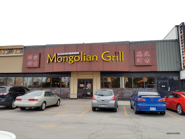 Genghis Khan Mongolian Grill storefront