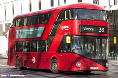Wrightbus NRM NBFL - LTZ 1199 - LT199 - Victoria 38 - Arriva - London 2017 - Steven Gray - IMG_6704