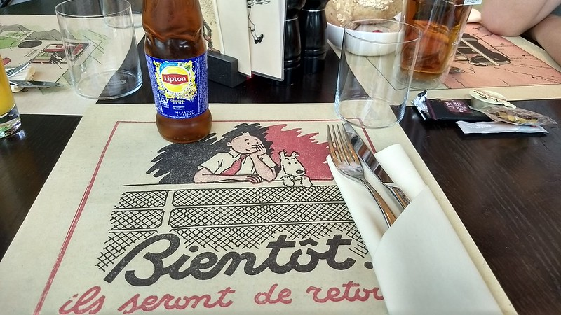 Restaurant at the Herge Museum, near Brussels