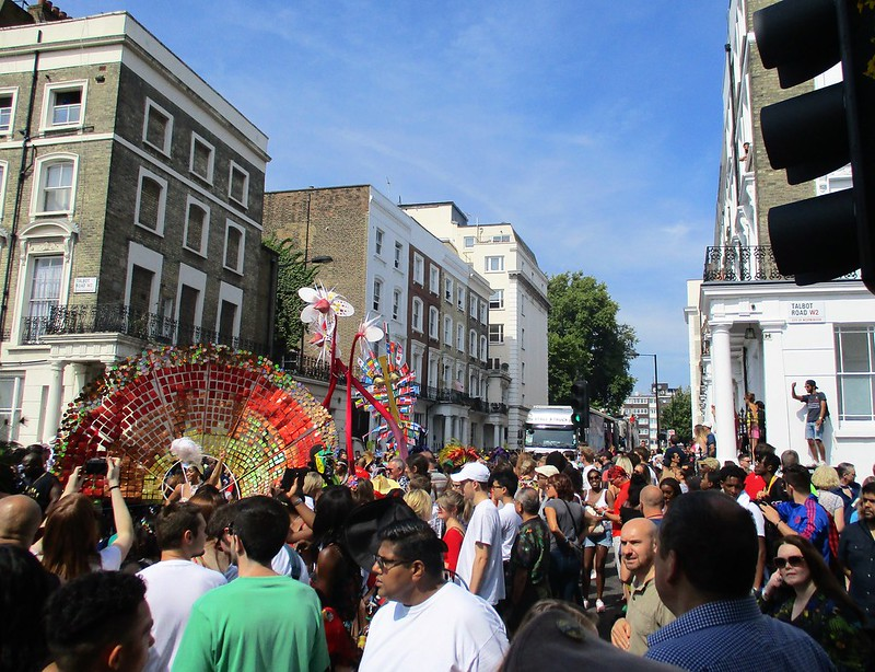 Notting Hill Carnival Crowds 2017