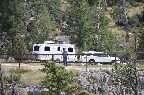 Cabin Bridge and trailer