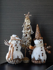 Christmas toys for decoration at living room