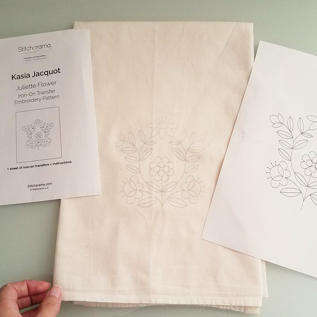 Read my review on Stitcharama embroidery transfers at www.feelingstitchy.com