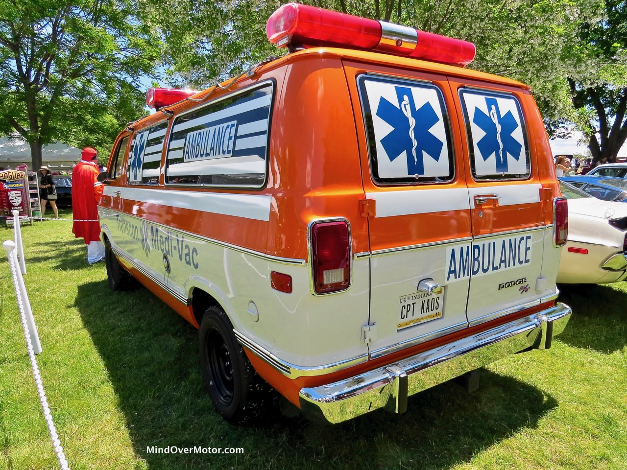 Dodge Ambulance Rear