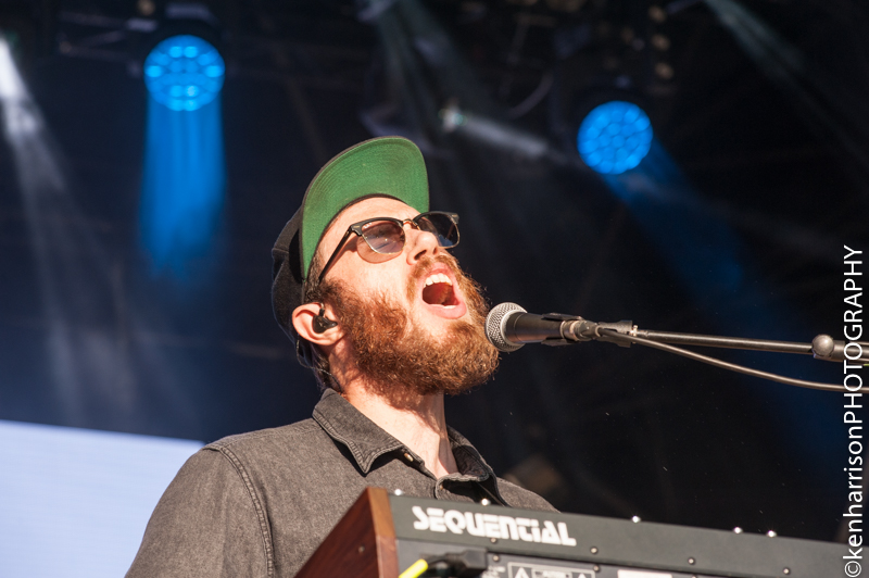 James Vincent McMorrow and band play Festival Number 6, Portmeirion, Wales, UK. 9th September, 2017.