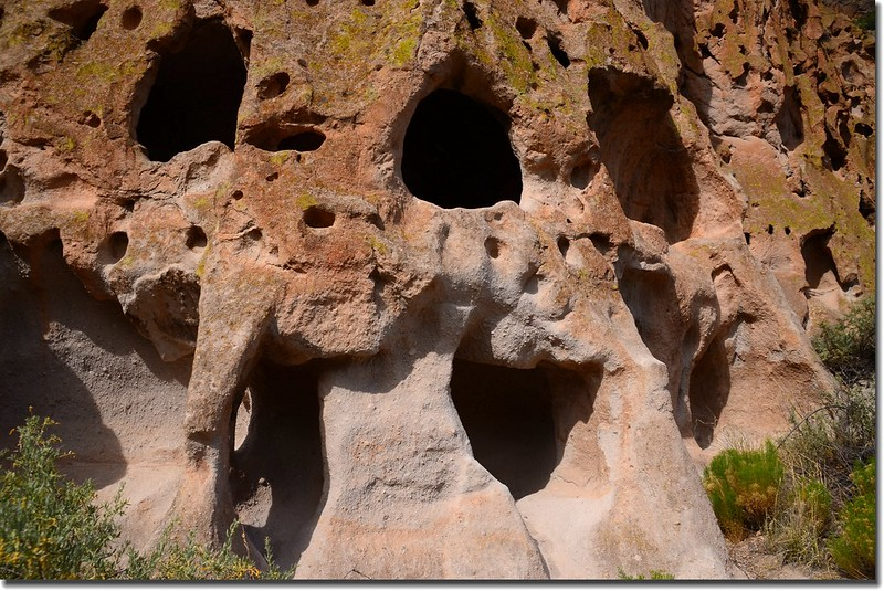 Cliff Dwellings at the Bandelier National Monument (3)