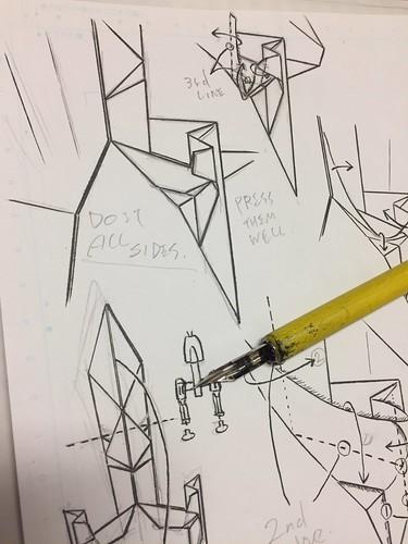 Inking diagram now.
