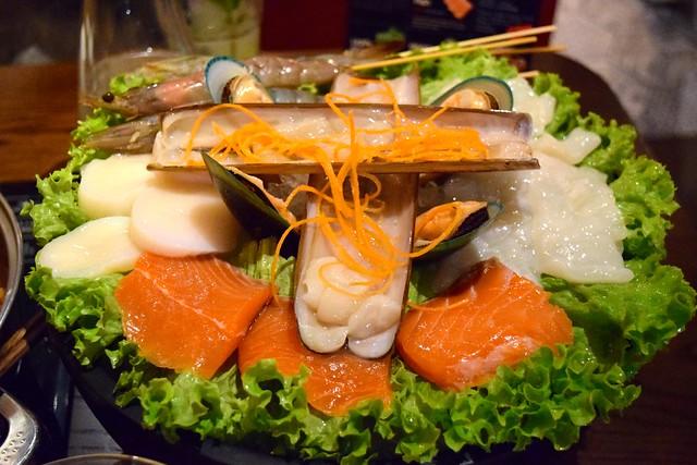 Seafood Platter at Hot Pot, Chinatown | www.rachelphipps.com @rachelphipps