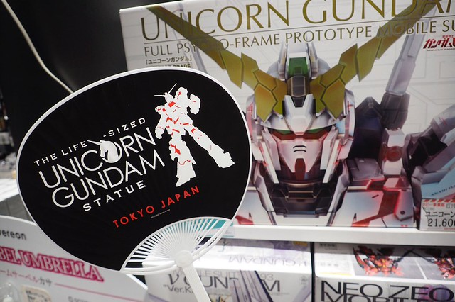 Gundam Unicorn Real Life Size Fan