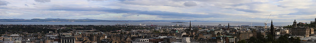 Firth of Forth from Edinburgh Castle