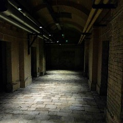 Nothing to worry about in the dark, Deadhouse. #london #openhouse2017
