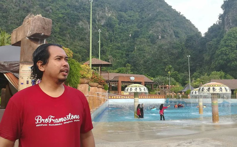 Pengambaran Ikon Siber di Lost World of Tambun