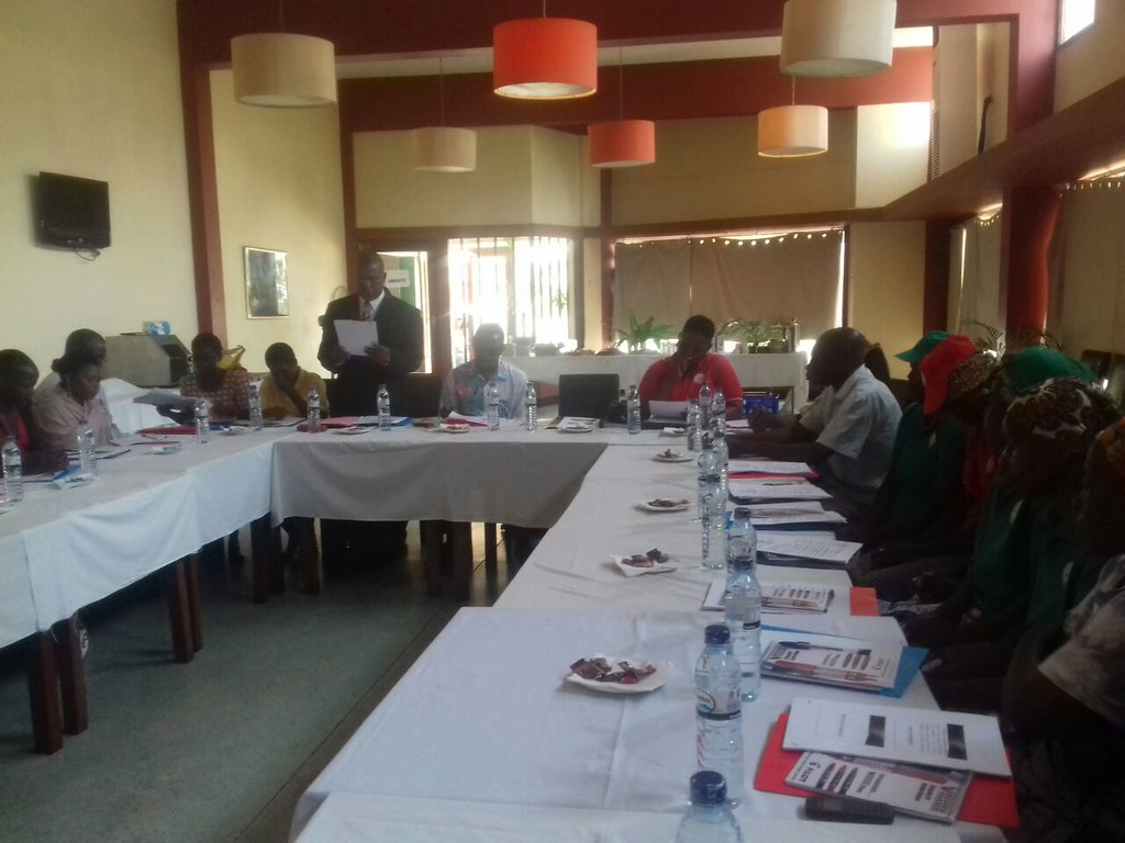 2017-9-16~17 Mozambique: Awareness raising woship on domestic workers' rights
