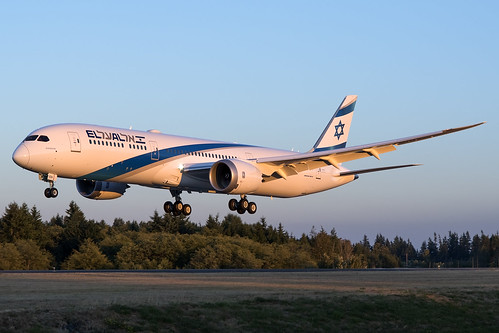 El Al Israel Airlines Boeing 787-9 4X-EDA