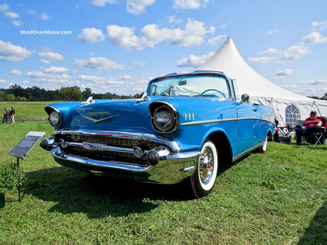 1957 Chevrolet Bel Air Convertible Front