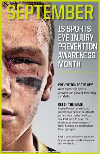 Eye safety month
