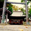 Photo:Shot taken while walking the dog through the neighborhood on my day off during a nice and cool autumn afternoon. I love this shrine since it is completely surrounded by rice paddies. Shinto Shrine. 近所の神社 (神奈川県小田原市). ISO 200 for 1/30 sec. at f/3.5 Pentax K By Caubarrere Piché