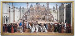 St Mark preaching in Alexandria | Gentile Bellini and Giovanni Bellini | Pinacoteca di Brera di Milano-9