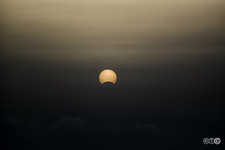 Solar eclipse in Lanzarote
