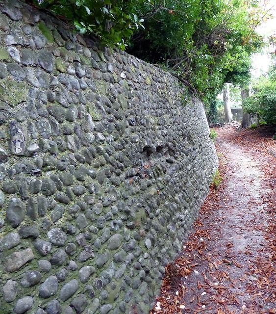 Flint Wall, Manor Gardens, Panasonic DMC-TZ60