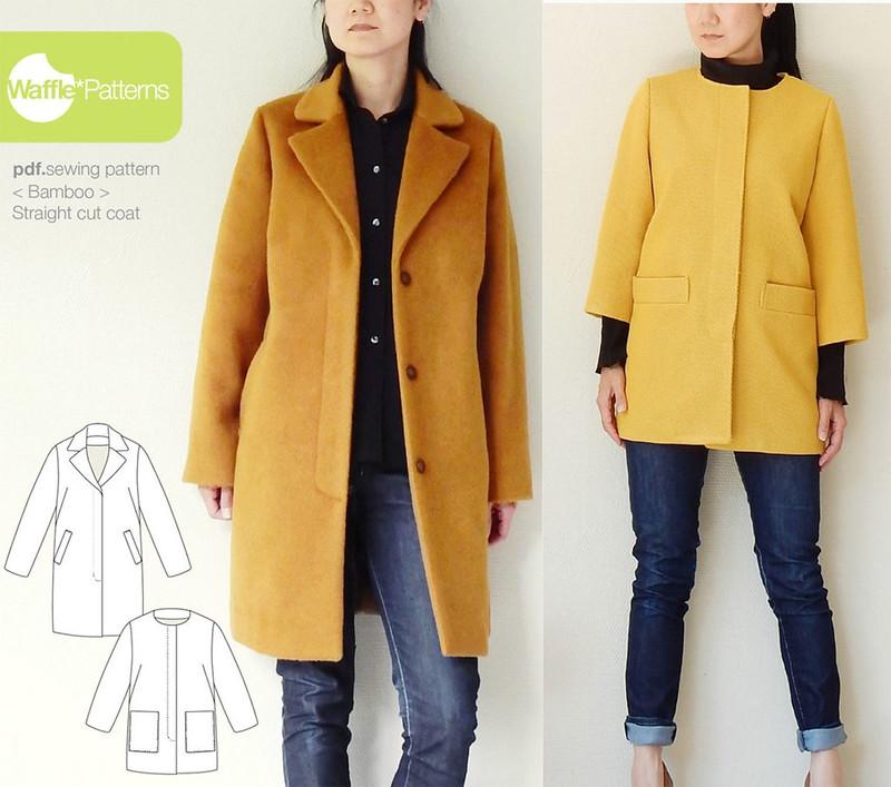 Waffle Bamboo coat
