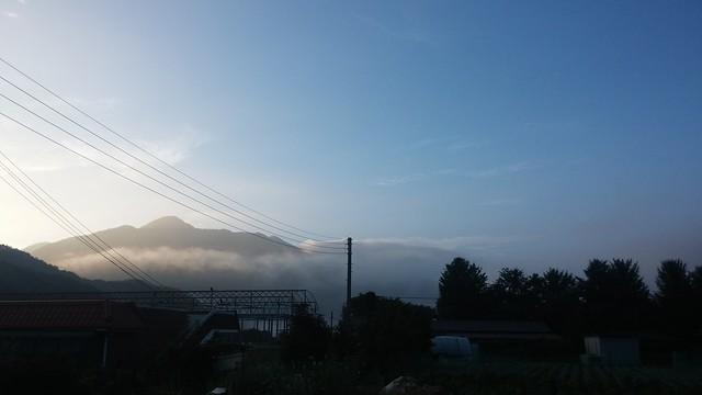 아침하늘 도장산