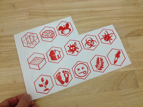 Rough Draft Hands-on Science Center Friday Stickers