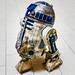 R2D2 with Marriott Marquis old carpet tie by L33Fly