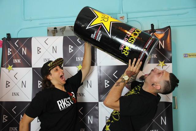 Rockstar x BCN ink