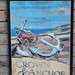 Crown and Anchor pub sign Dell Quay West Sussex UK