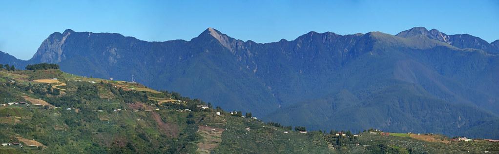 Mountain range of Dajian-Jian