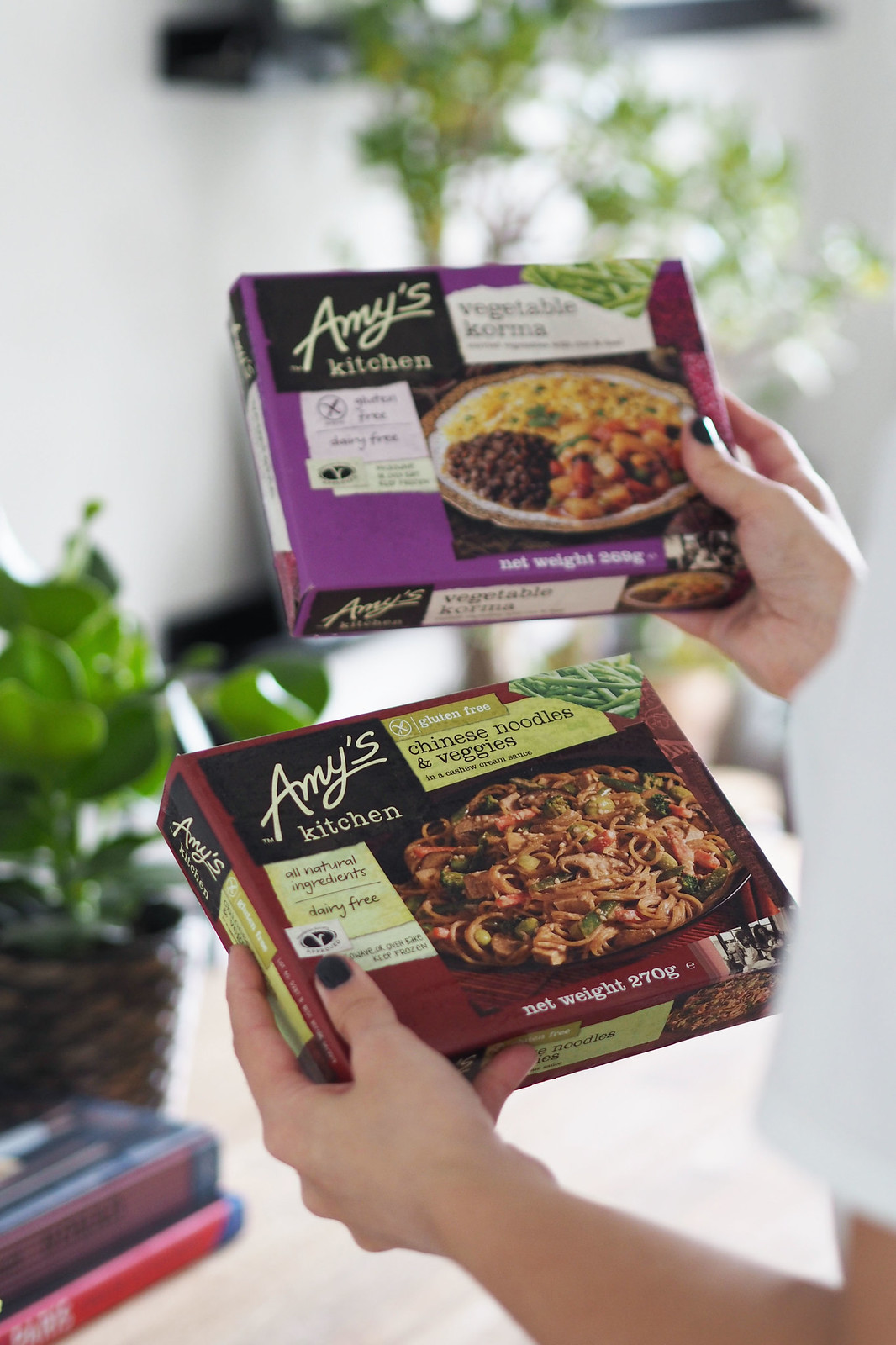 amys kitchen vegan ready meals