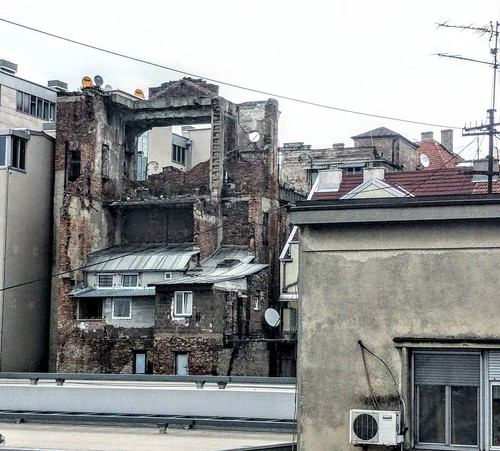 Reminder of war - Belgrade, Serbia