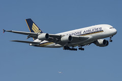 9V-SKP - Singapore Airlines - Airbus A380