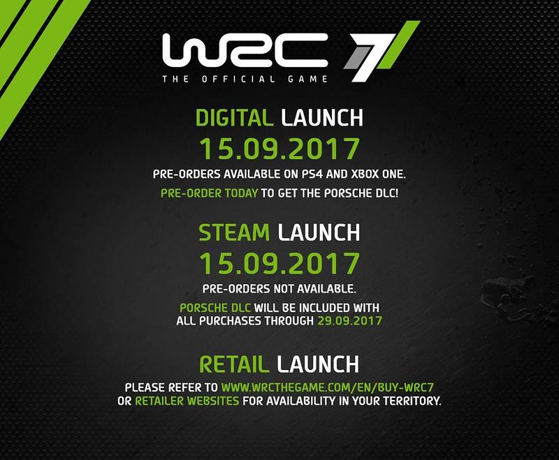 WRC 7 Release