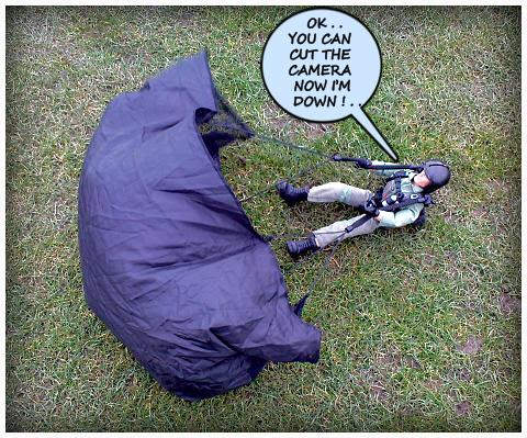High Speed Parachute Test 1 (Top Secret).. 36865945106_2a30edc7ef_o