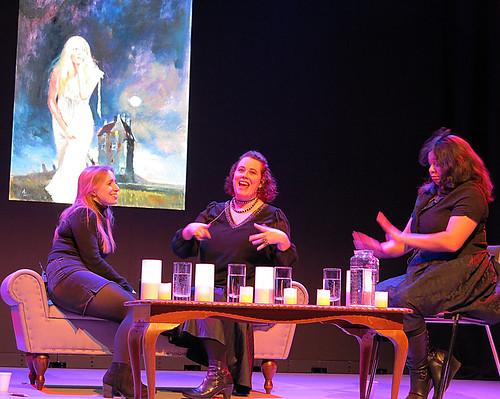 Rebecca Vaughan, Karen Healey, and Moata Tamaira