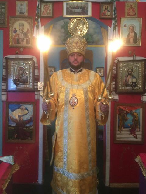 Архієрейська Божественна літургія в 15-ту неділю п