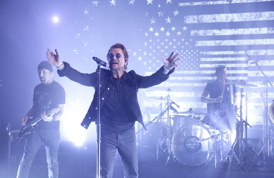 U2 on The Tonight Show