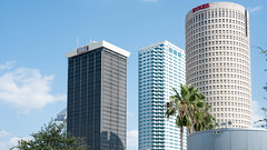 The skyline of downtown Tampa