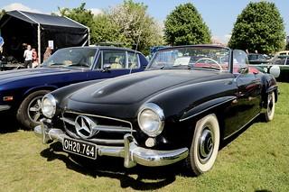 Mercedes-Benz 190 SL, 1960 - OH20764 - DSC_9567_Compressor
