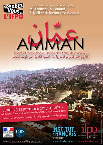 Amman : Histoire et morphologie urbaine de l'Antiquité à nos jours