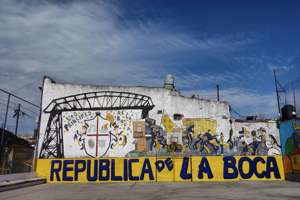 Buenos Aires - La Boca - Street Art