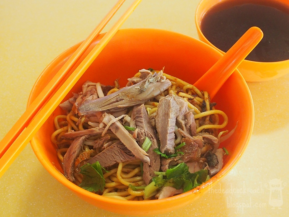 food, food review, review, seah im food centre, shi ji noodle stall, singapore, 獅記麵食攤, seah im food centre, lor mee,鸭面, 獅記麵食攤鸭面