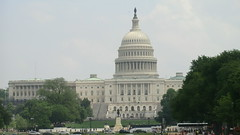 Washington D.C.: United States Capitol - classic view: the  west side of the building